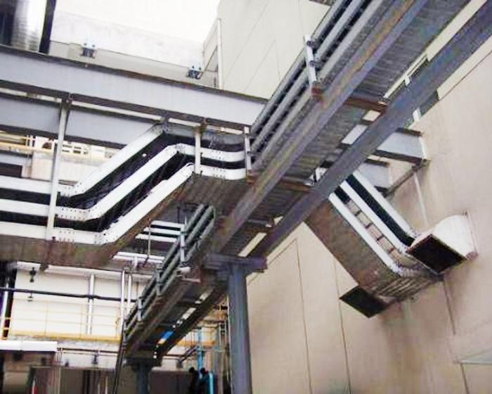 槽式钢制电缆桥架